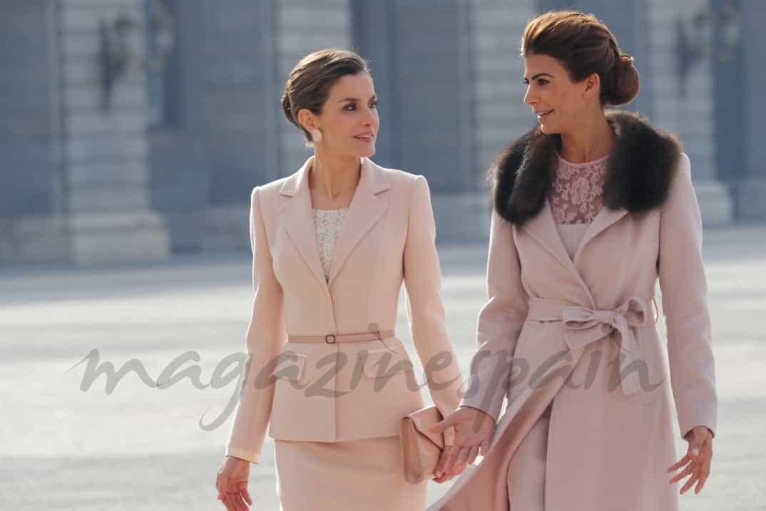 Reina Letizia y Juliana Awada © Casa S.M. El Rey