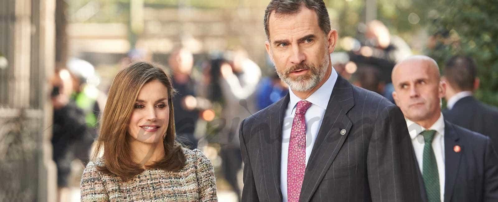 Los Reyes continúan con su agenda, mientras la infanta Cristina es absuelta del caso Nóos