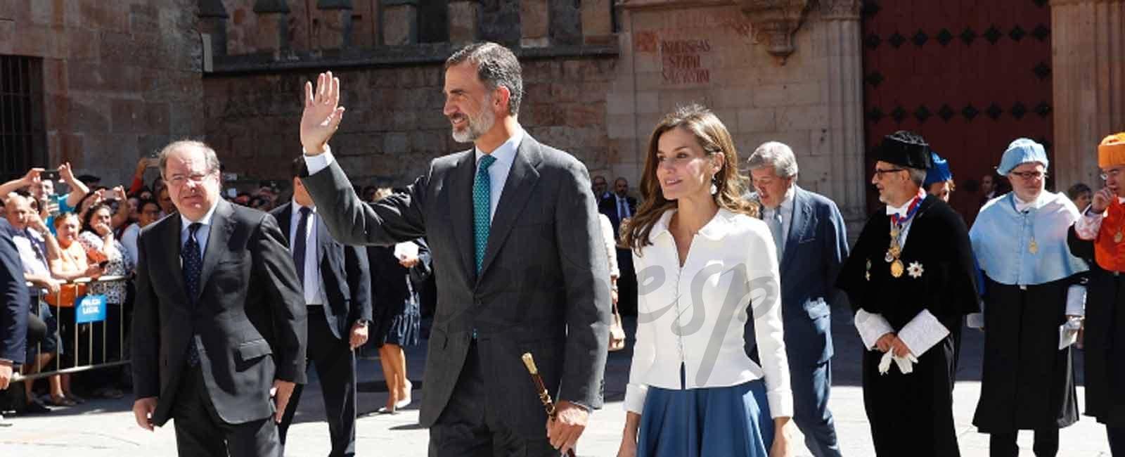 Los Reyes presiden la apertura del curso universitario