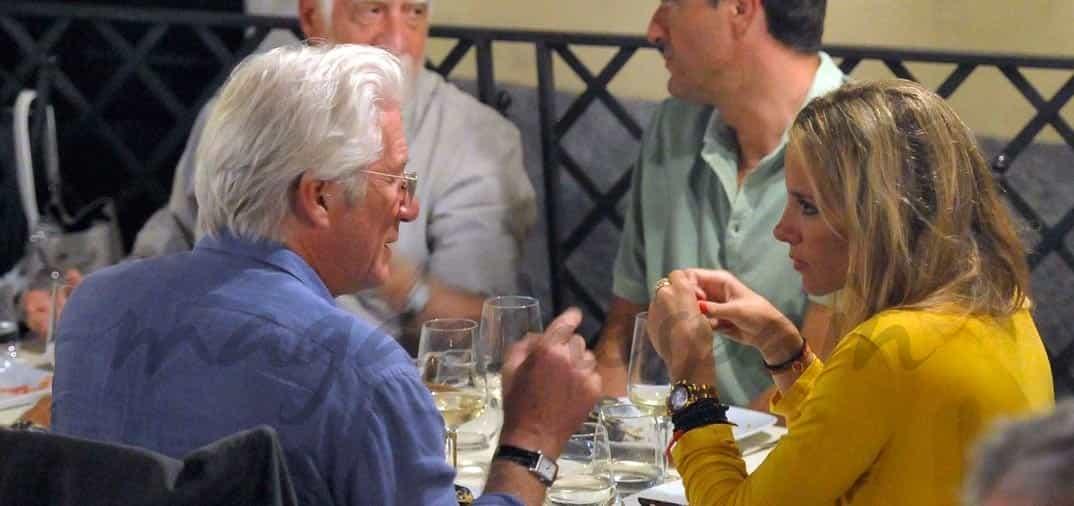 Richard Gere se reune en Madrid con Alejandra Silva