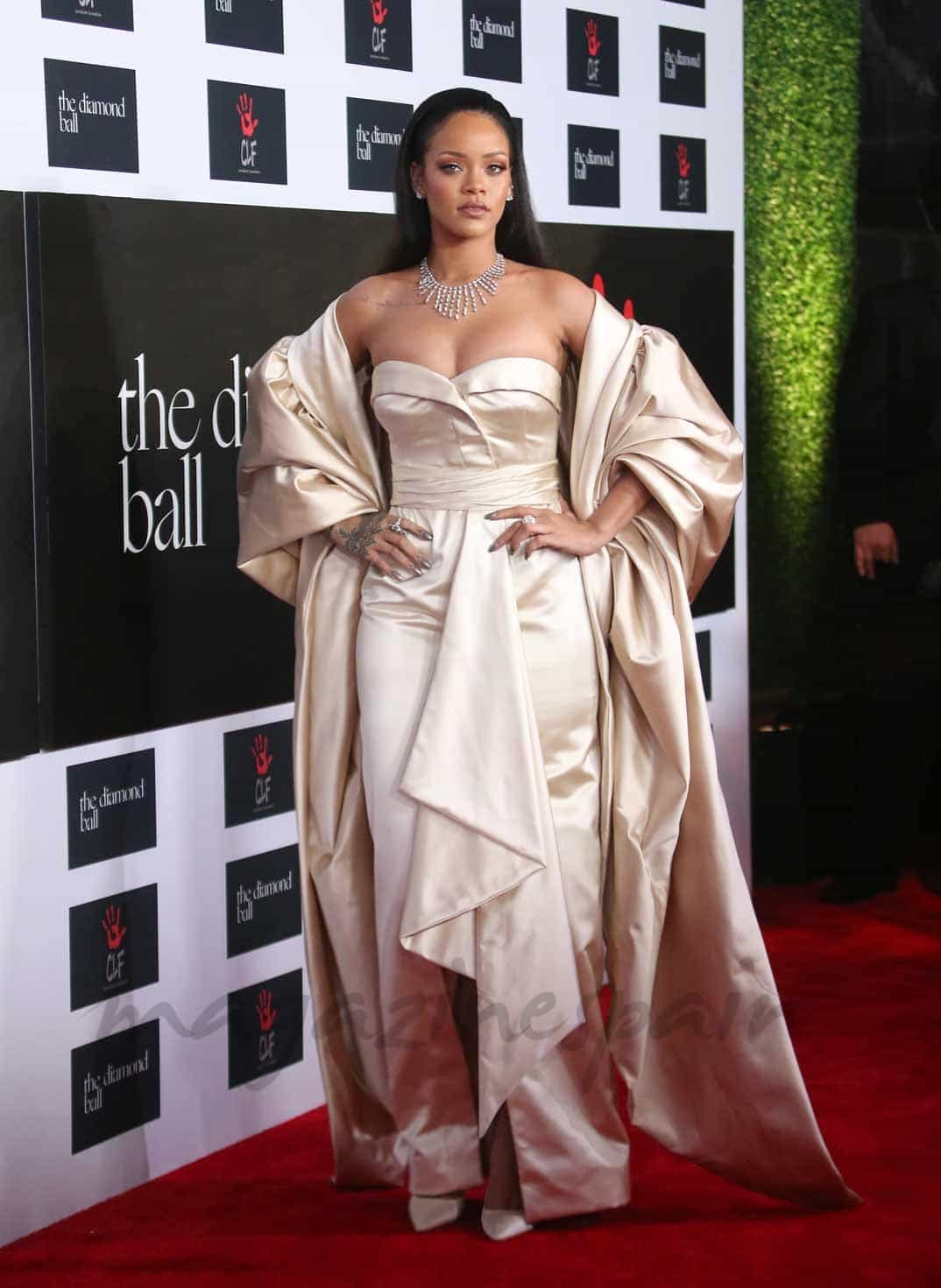 rihanna en Annual Diamond Ball