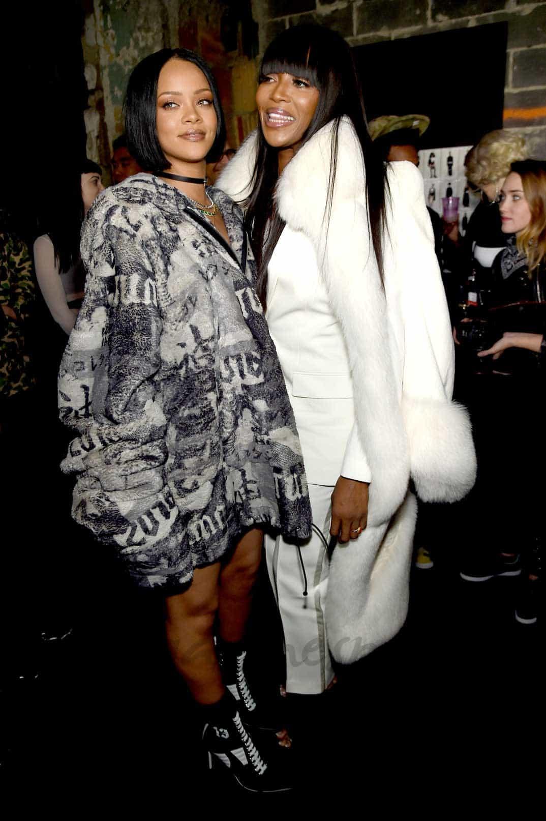 Rihanna y Naomi Campbell