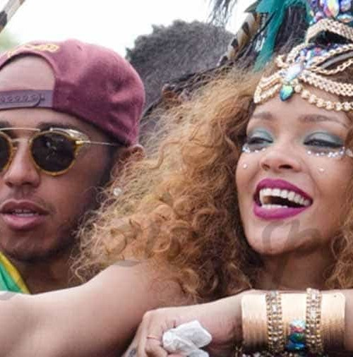 Rihanna y Lewis Hamilton, ¿pareja?