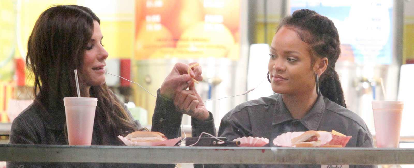 Rihanna y Sandra Bullock… ¡Adiós a la dieta!