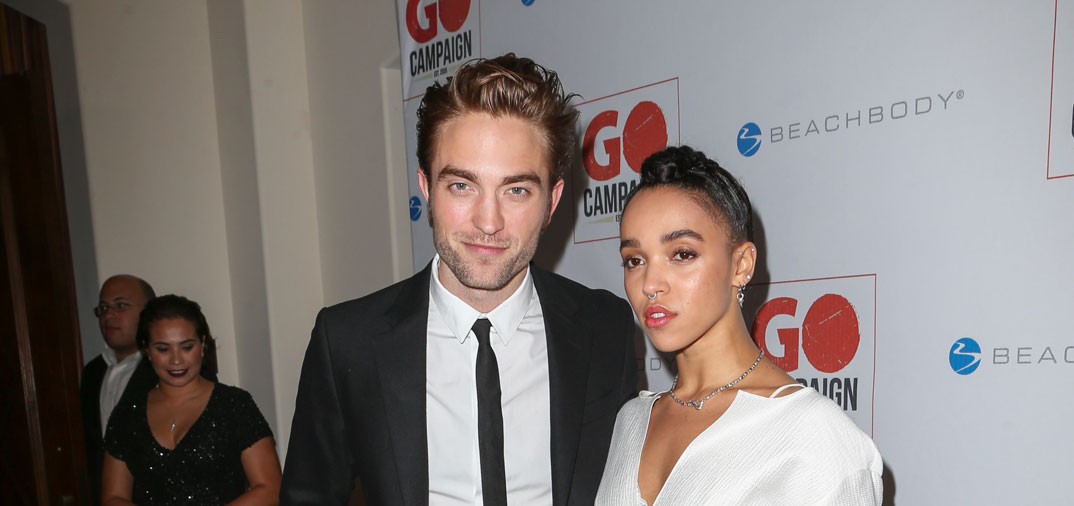 Robert Pattinson presume de novia, FKA Twigs