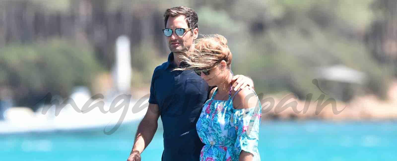 Roger Federer vacaciones familiares en Porto Cervo