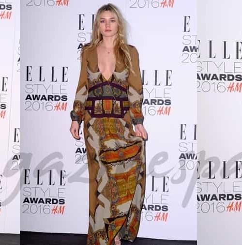 Desfile de bellezas en los Elle Style Awards
