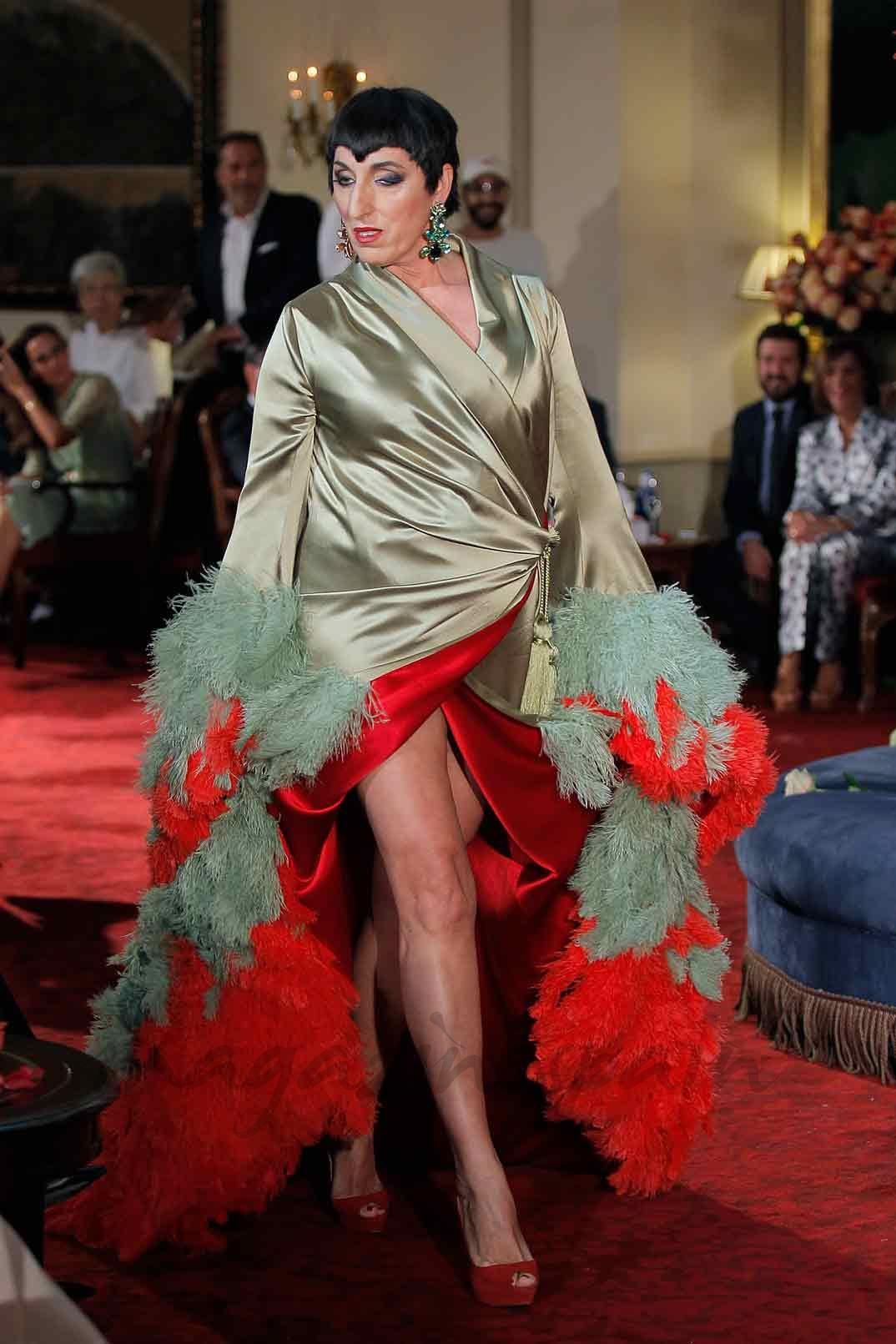 Rossy de Palma - Palomo Spain - Mercedes Benz Fashion Week Madrid