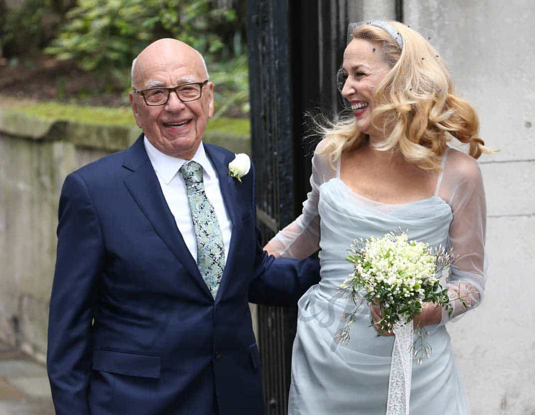 rupert-murdoch-y-jerry-hall el amor a los ochenta años