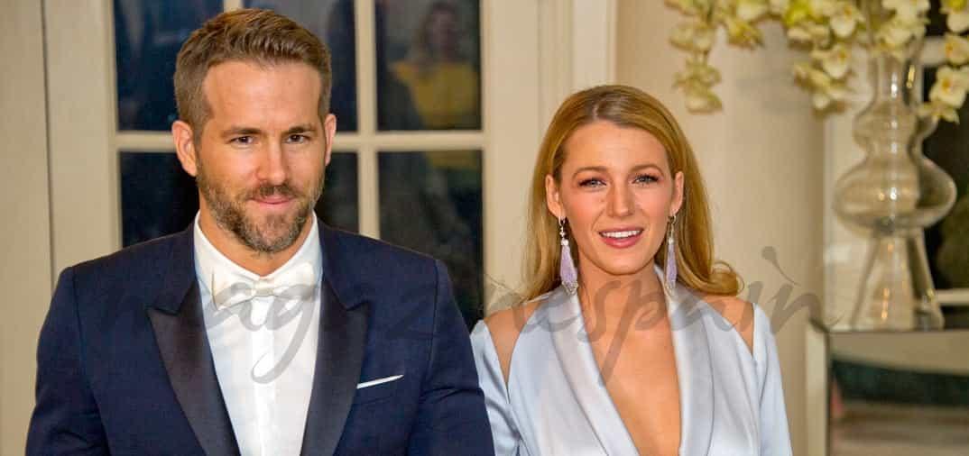 Ryan Reynolds y Blake Lively, invitados a la Casa Blanca