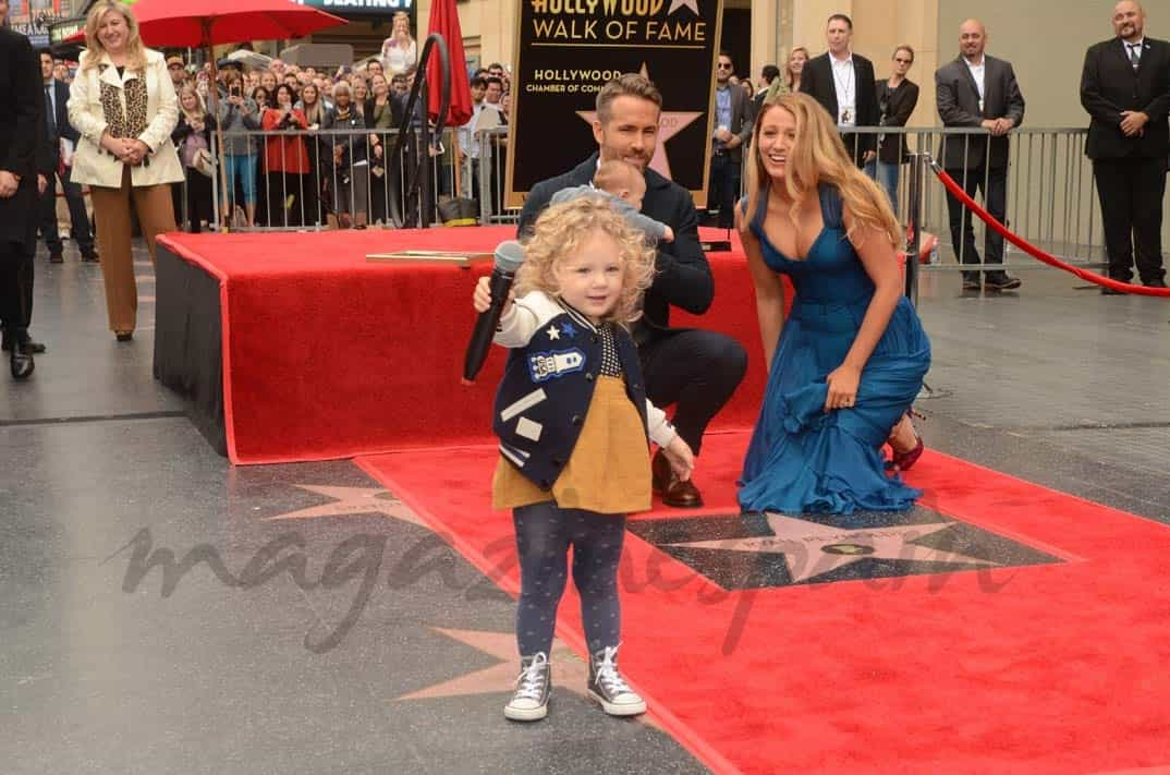 Ryan Reynolds, Blake Lively y sus dos hijas