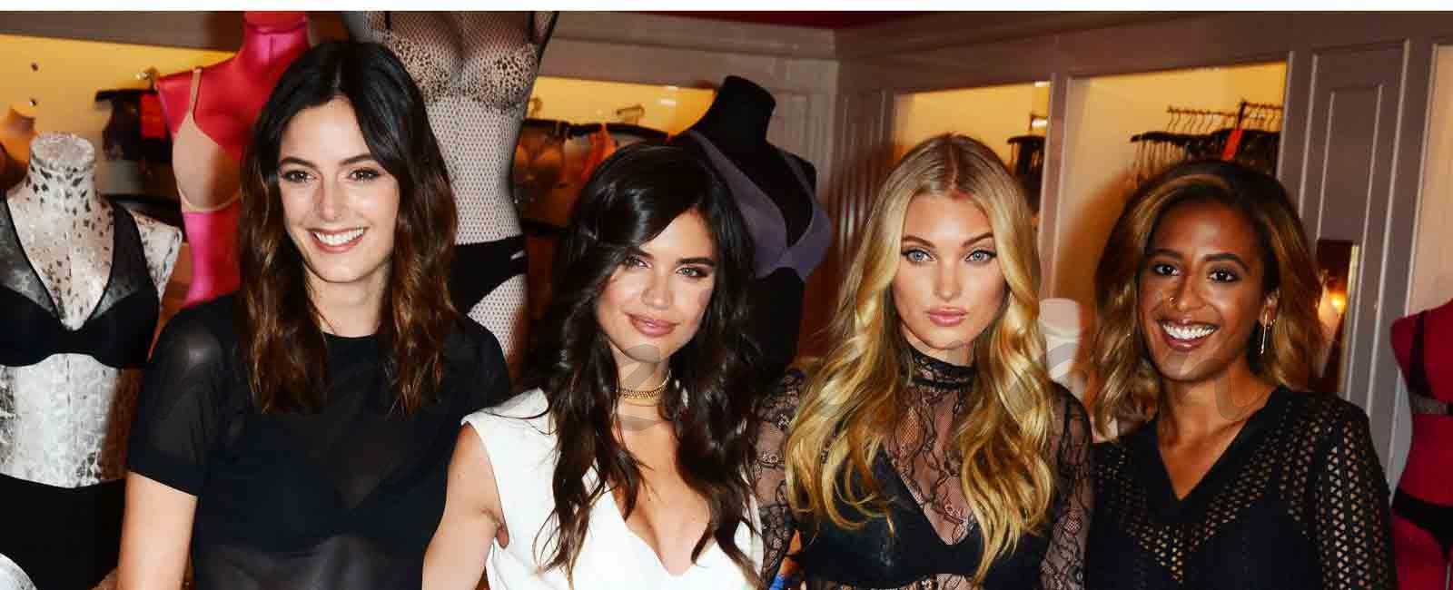 Los ángeles de Victoria's Secret aterrizan en Nueva York