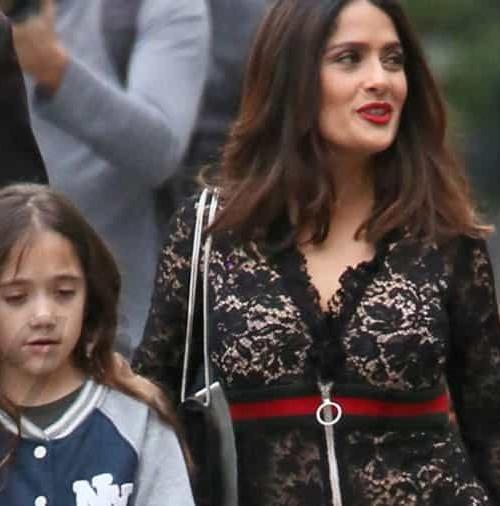 Salma Hayek presume de hija