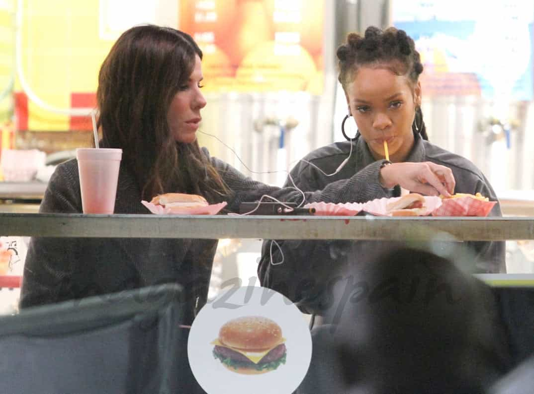 Sandra Bullock y Rihanna