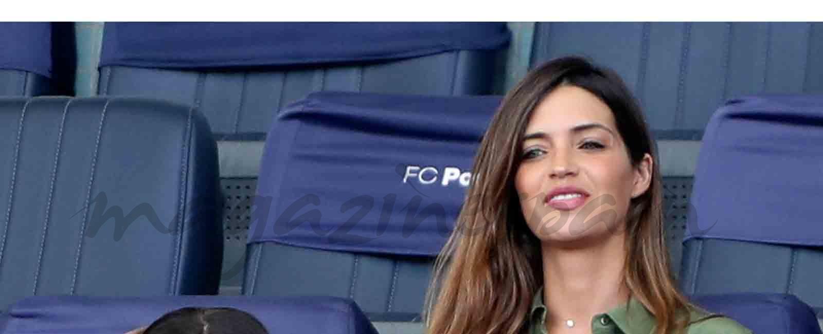 Sara Carbonero, Lucas y Martín animan a Iker Casillas