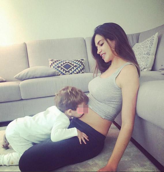 Sara Carbonero y martin en instagram