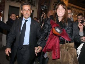 Sharkozy y Carla Bruni