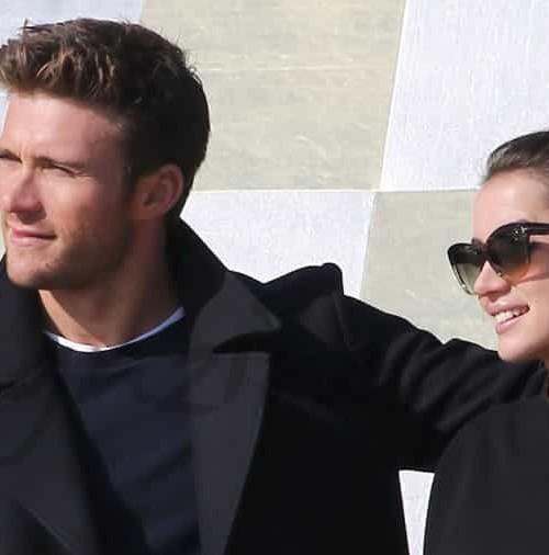 Ana de Armas y Scott Eastwood ruedan juntos en París