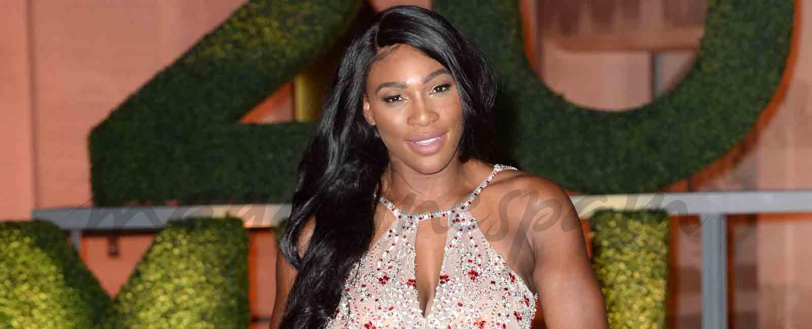 Serena Williams embarazada de cinco meses