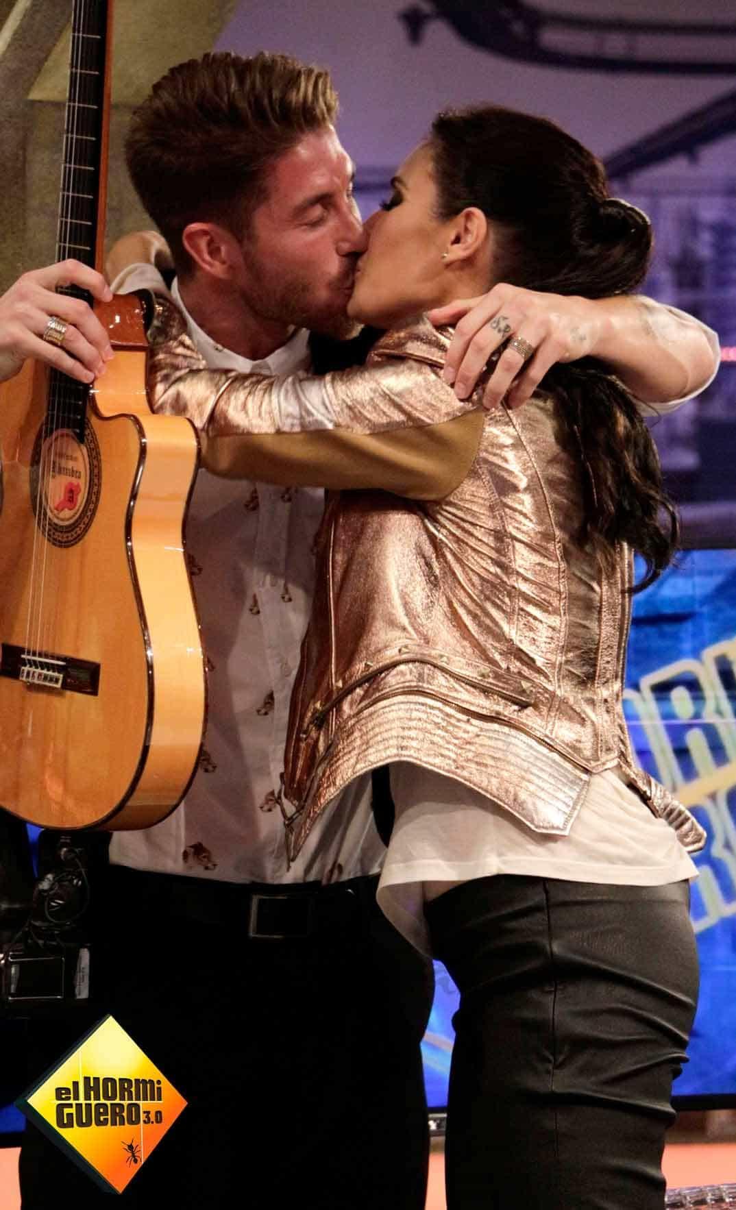 """Sergio Ramos y Pilar Rubio en """"El Hormiguero"""""""