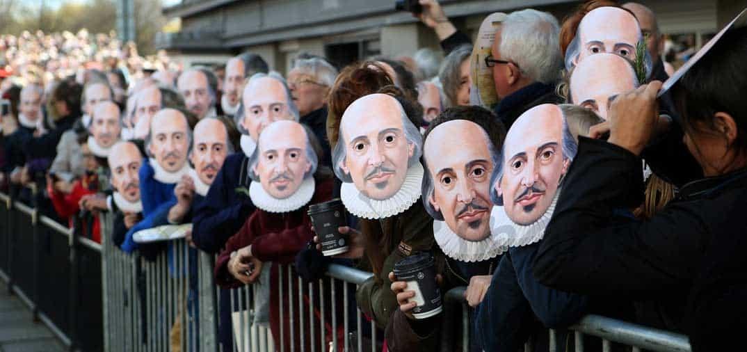 Reino Unido rinde tributo a Shakespeare