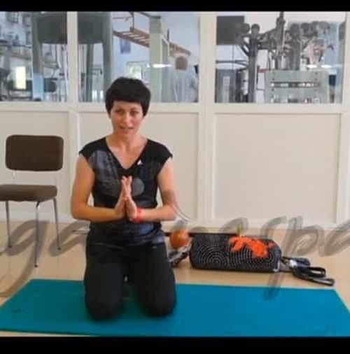 Gimnasia Restaurativa 19: Estirar los brazos
