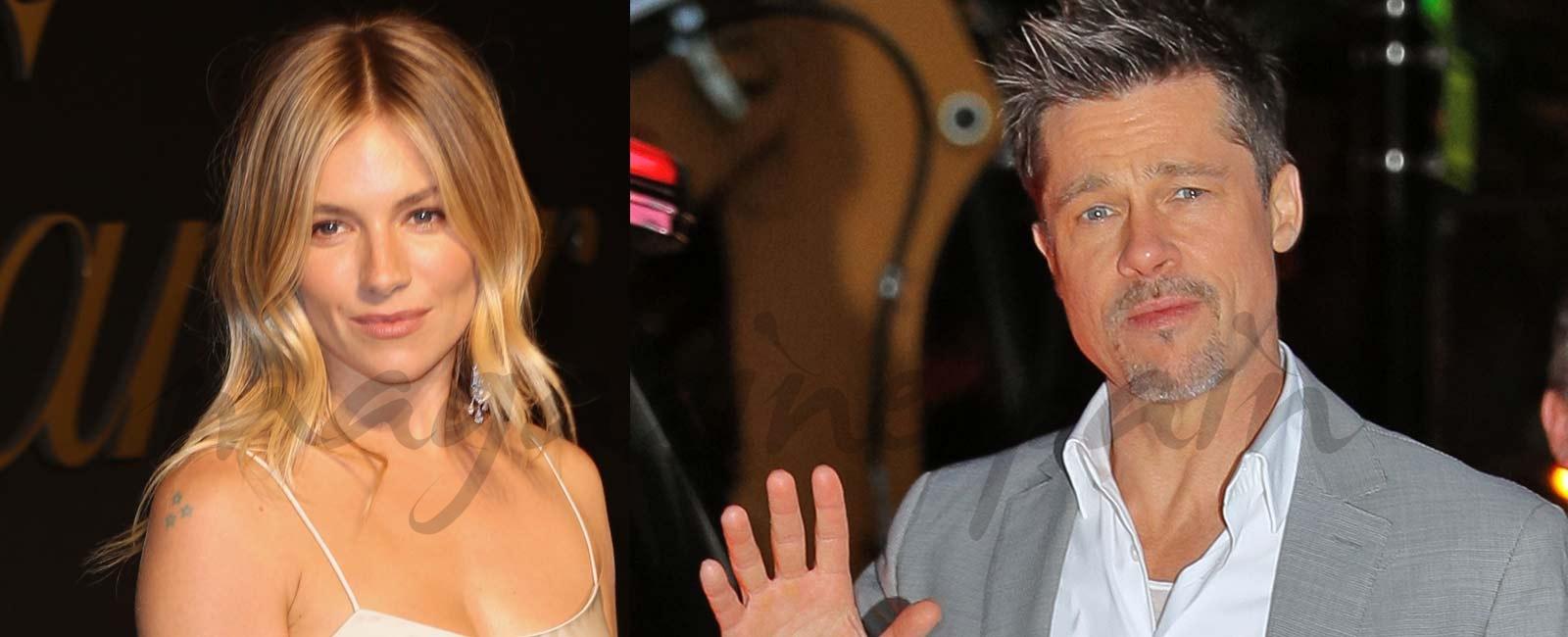 Brad Pitt y Sienna Miller… El romance «secreto» del que todo el mundo habla