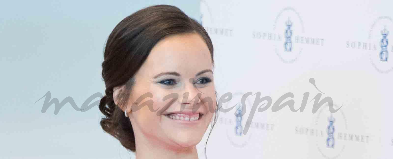 El estilo premamá de la princesa Sofía de Suecia