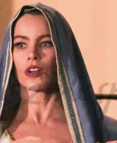 Sofía Vergara, la actriz mejor pagada de la televisión, en el papel de la Virgen María
