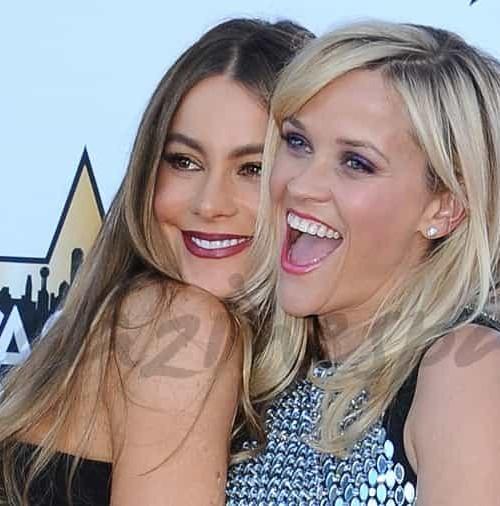 Sofía Vergara y Reese Witherspoon inseparables