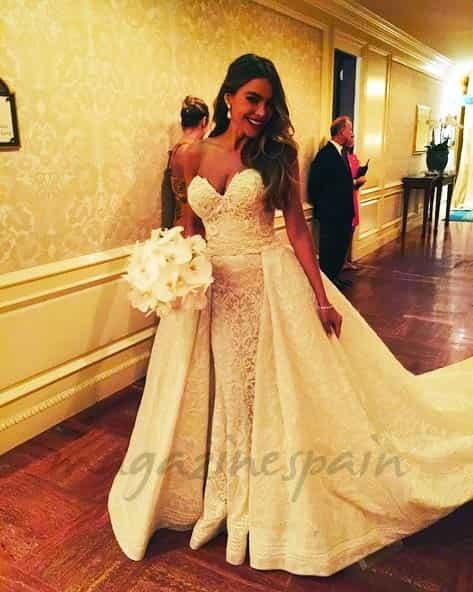 sofia vergara y joe manganiello boda foto instagram