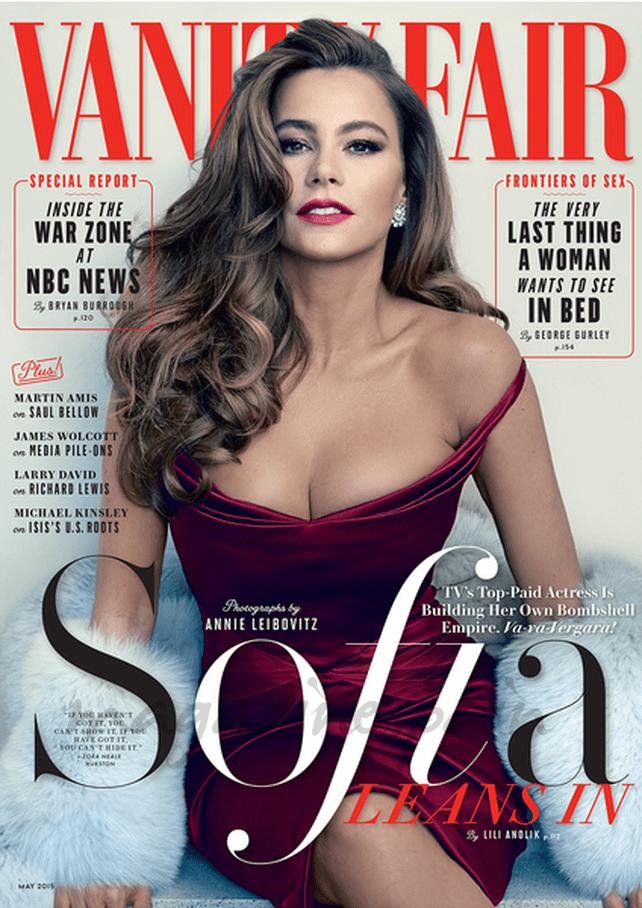 sofia vergara en la portada de vanity fair