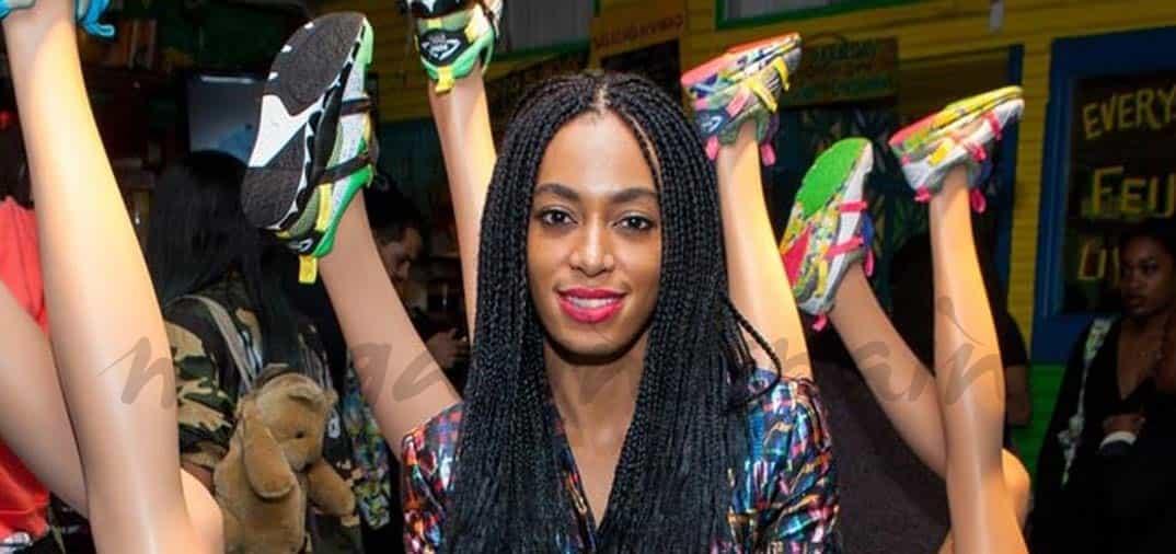 Solange Knowles lanza su segunda colección de deportivas.