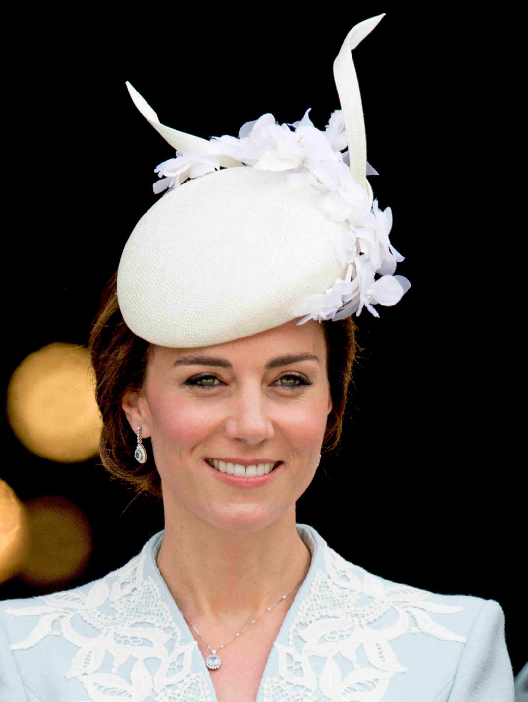 kate middleton desfile de sombreros
