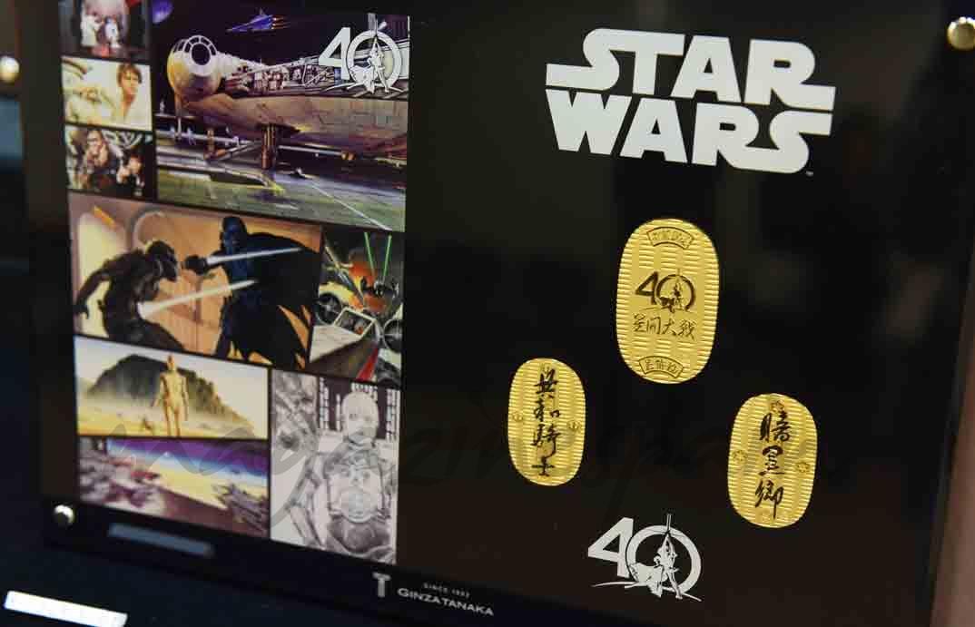 medallas conmemorativas de star wars