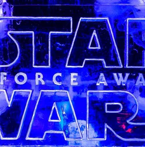 Star Wars, esculturas en el hielo