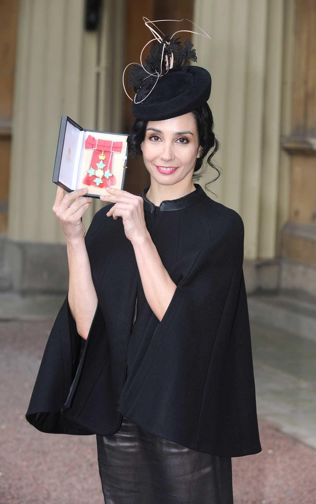 """La bailarina española, Tamara Rojo, ha recibido la insignia de """"Comandante de la Orden del Imperio Británico"""
