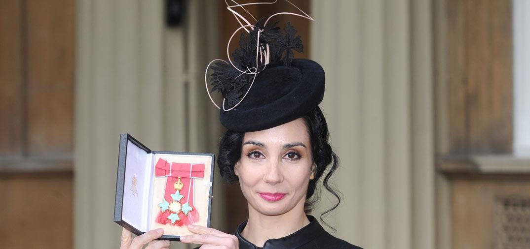 "tamara rojo premio La bailarina española, Tatamara rojo ""Comandante de la Orden del Imperio Británico"