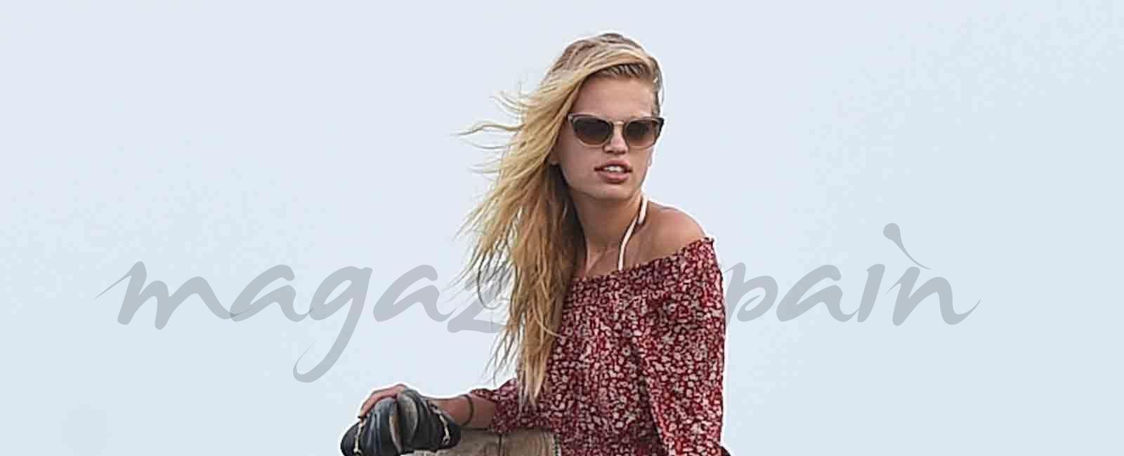 El Ángel de Victoria's Secret Taylor Hill y su novio, vacaciones en Saint-Tropez