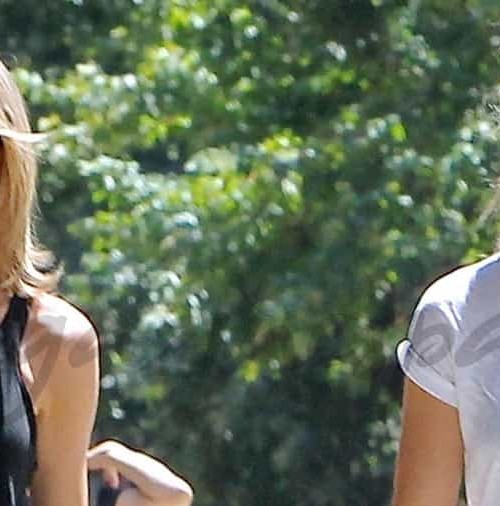 Taylor Swift y Gigi Hadid, en forma