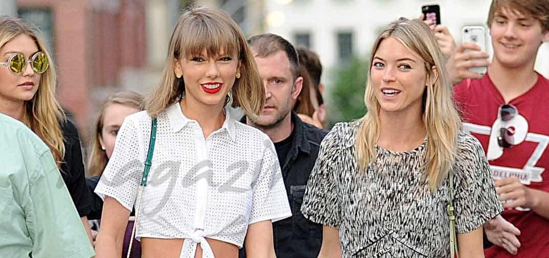 Taylor, Gigi y Martha: trio de rubias