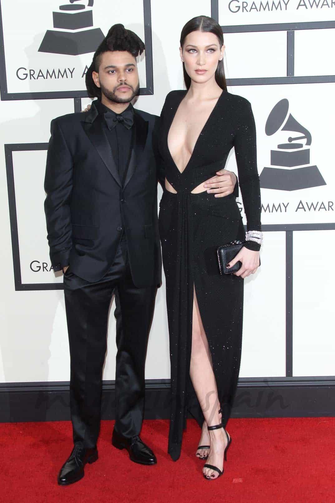 The Weeknd y Bella Hadid (Febrero 2016)