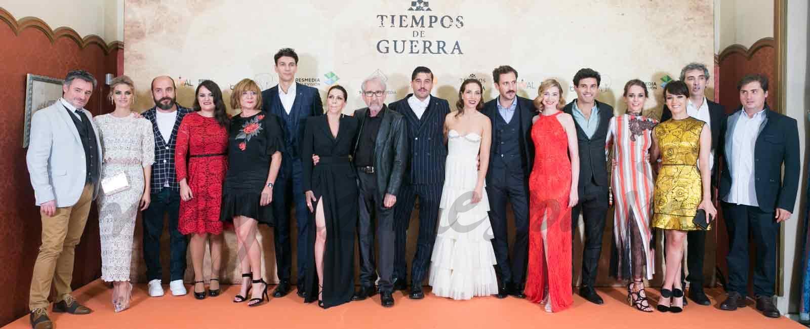 Amaia Salamanca estrena «Tiempos de guerra» en el FesTVal