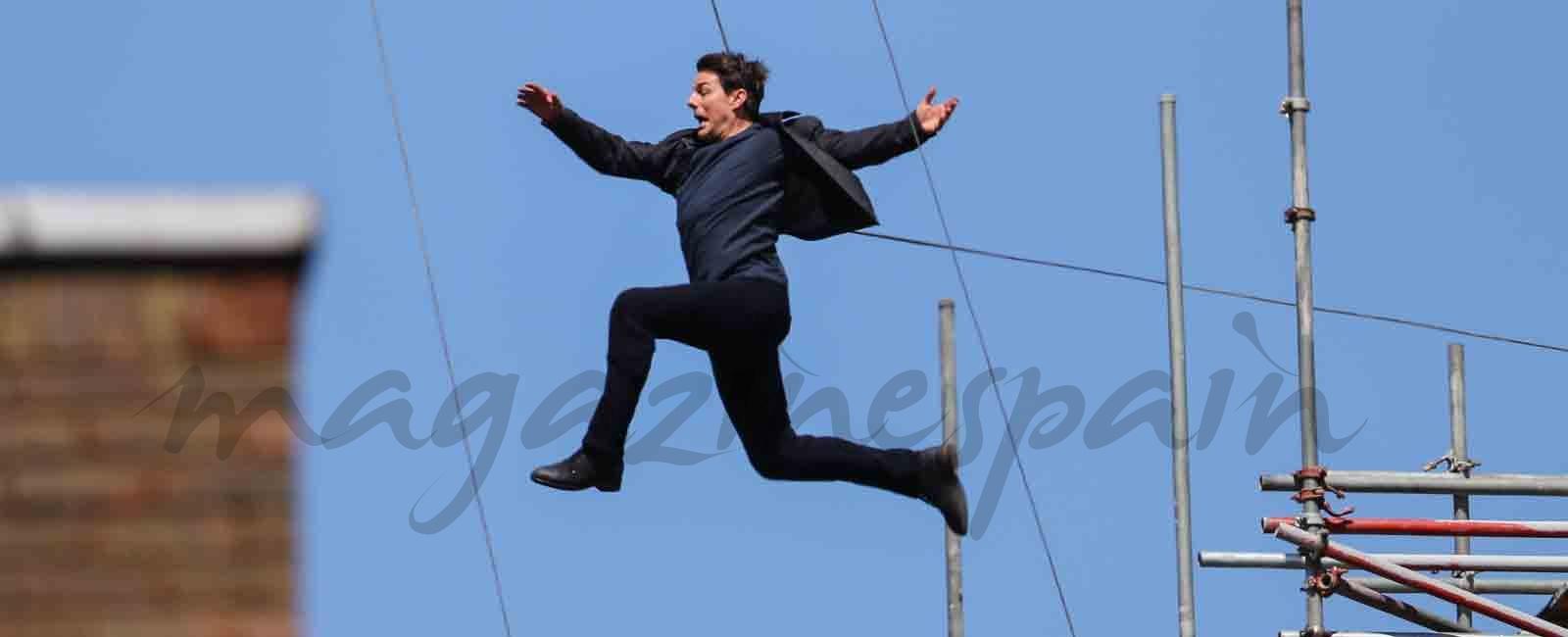 Tom Cruise accidente rodando Misión Imposible 6