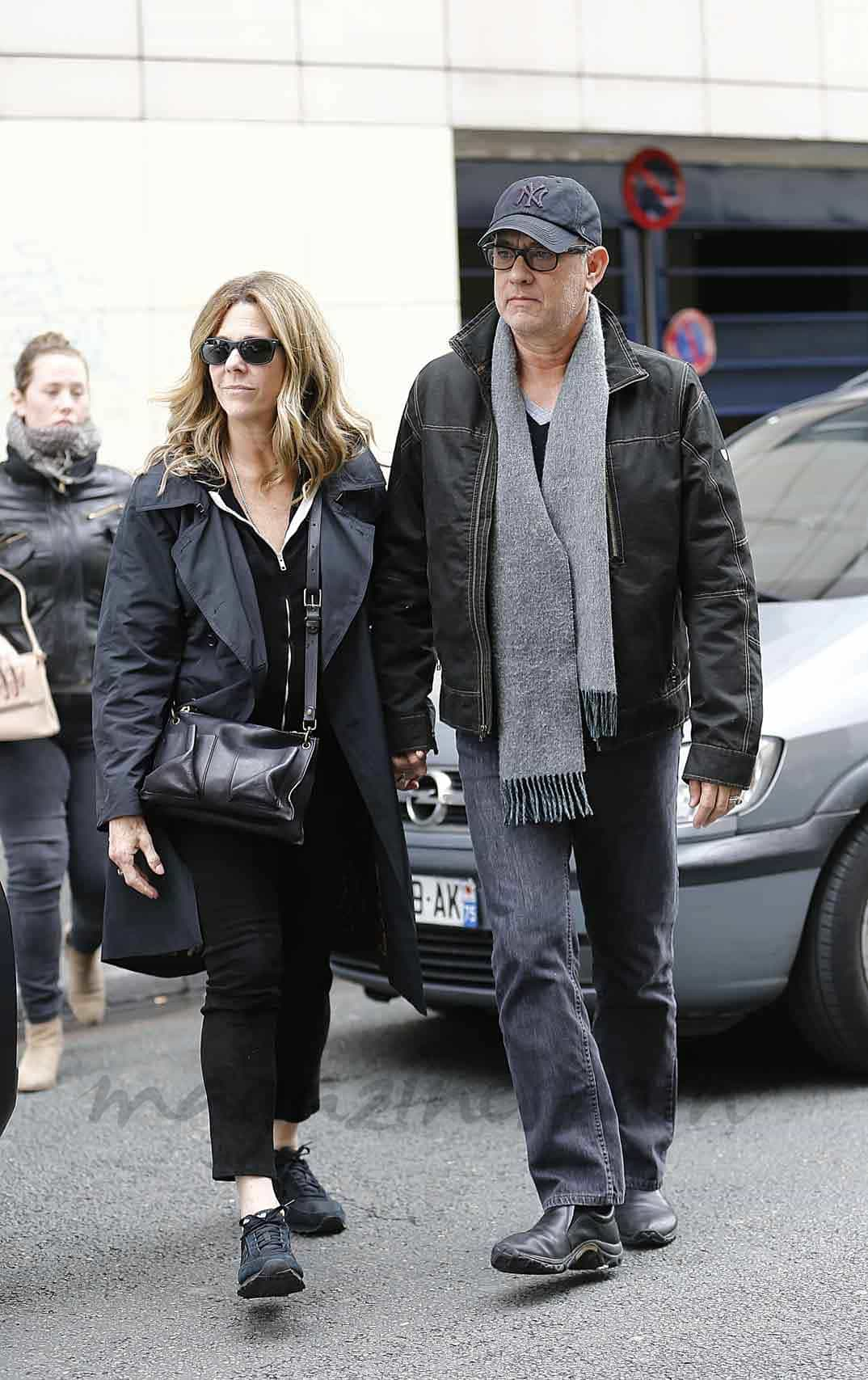 tom hanks y su familia vacaciones en paris