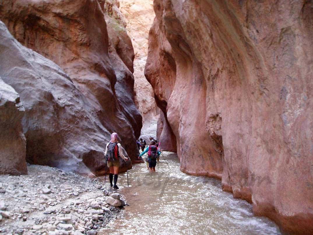 Trekking por el alto Atlas Central en Marruecos