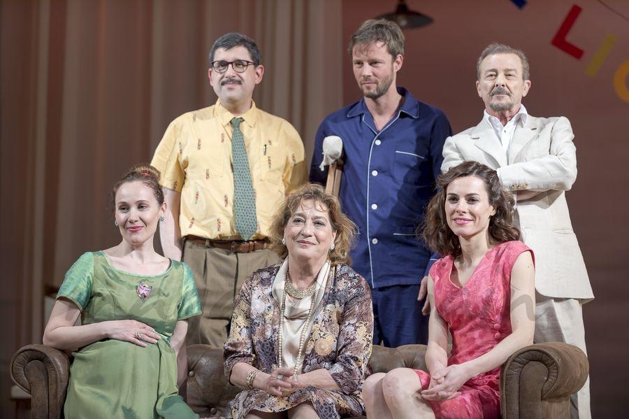 Juan Diego, Eloy Azorín, Begoña Maestre, José Luis Patiño, Marta Molina y Ana Marzoa