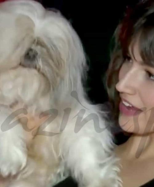 """Úrsula Corberó y su perrita Lolita en """"Mascotas"""""""