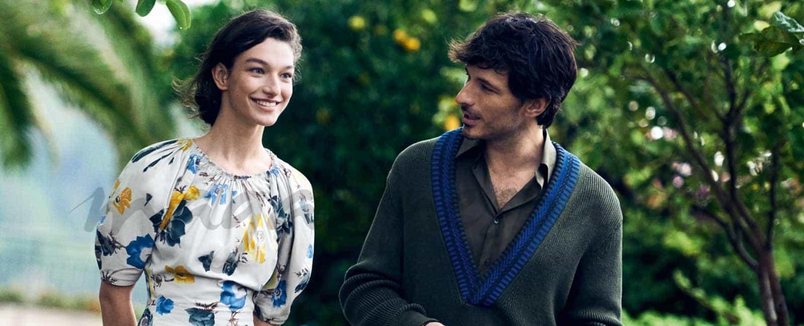 Andrés Velencoso y Lily Aldridge protagonizan la nueva campaña de Salvatore Ferragamo
