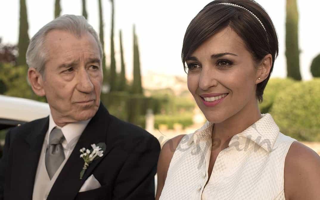 José Sacristán y Paula Echevarría - Último capítulo - Velvet - © Atresmedia